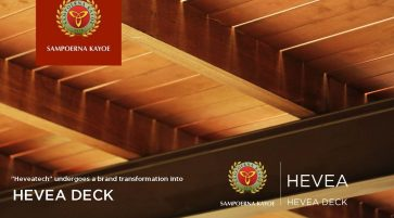 Heveatech undergoes a brand transformation into HEVEA DECK