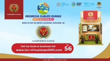 ICCVEF Expo 2021 – Sampoerna Kayoe's Active Participation in Supporting the Program of the Ministry of Environment and Forestry of the Republic of Indonesia