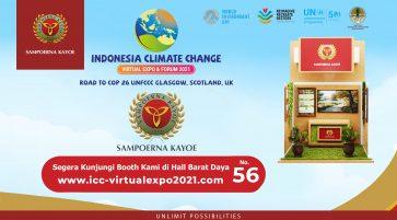 ICCVEF Expo 2021 – Wujud Partisipasi Aktif Sampoerna Kayoe Mendukung Program Kementerian Lingkungan Hidup dan Kehutanan Republik Indonesia